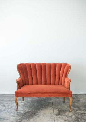 Miraculous Burt Couch Burnt Orange Velvet Couch Orange Couch Squirreltailoven Fun Painted Chair Ideas Images Squirreltailovenorg