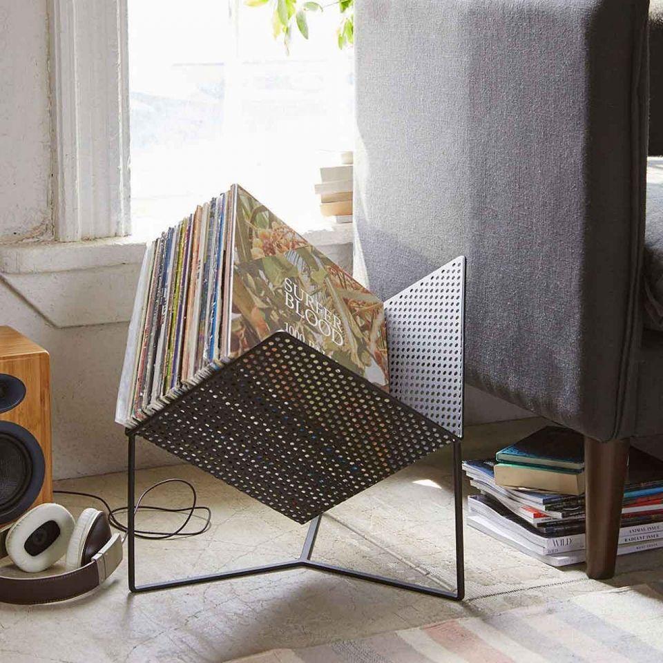 vinyl rack my interior pinterest tourne disques disque et vinyles. Black Bedroom Furniture Sets. Home Design Ideas