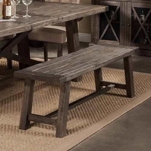 Outstanding Alpine Newberry Bench From Hayneedle Com New Dining Dailytribune Chair Design For Home Dailytribuneorg