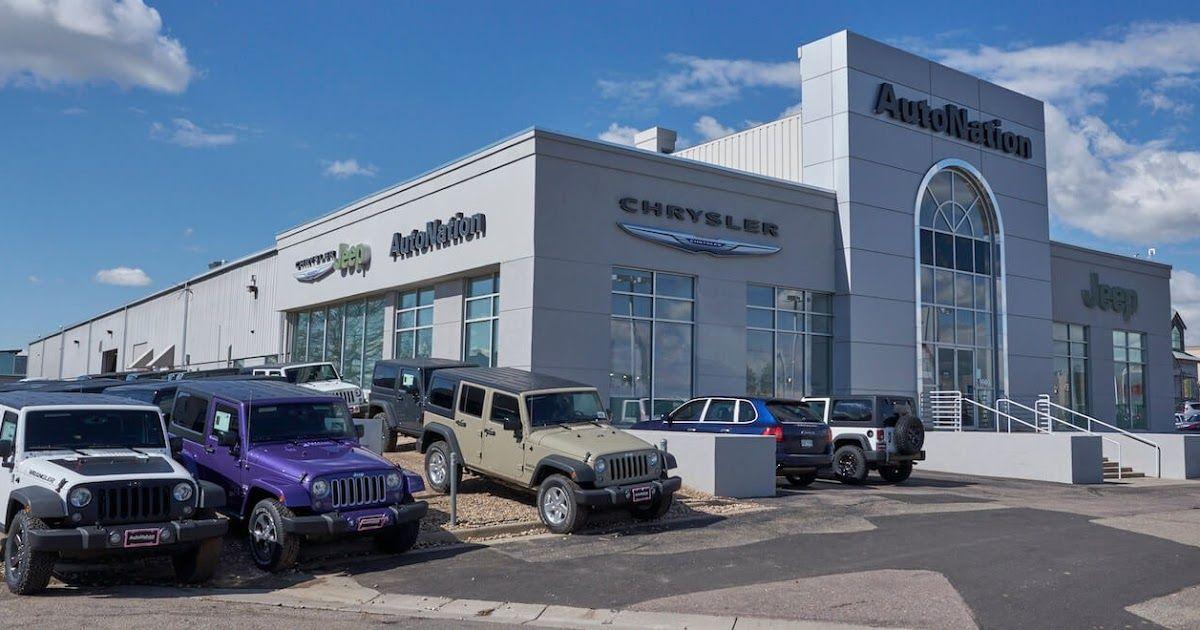 AutoNation Chrysler Jeep Arapahoe in 2020 Toyota