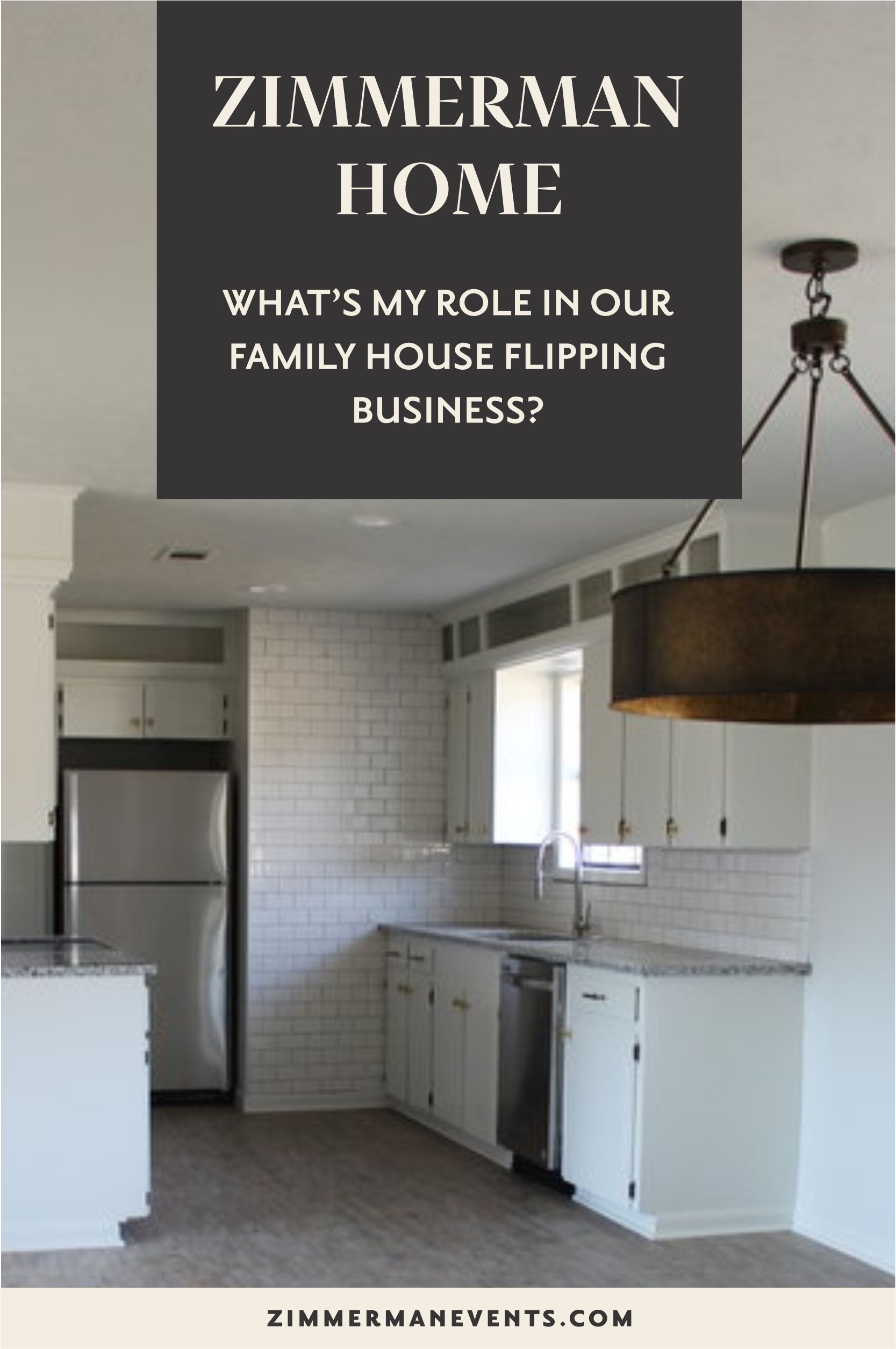 My role in our flipping business — Arkansas Wedding