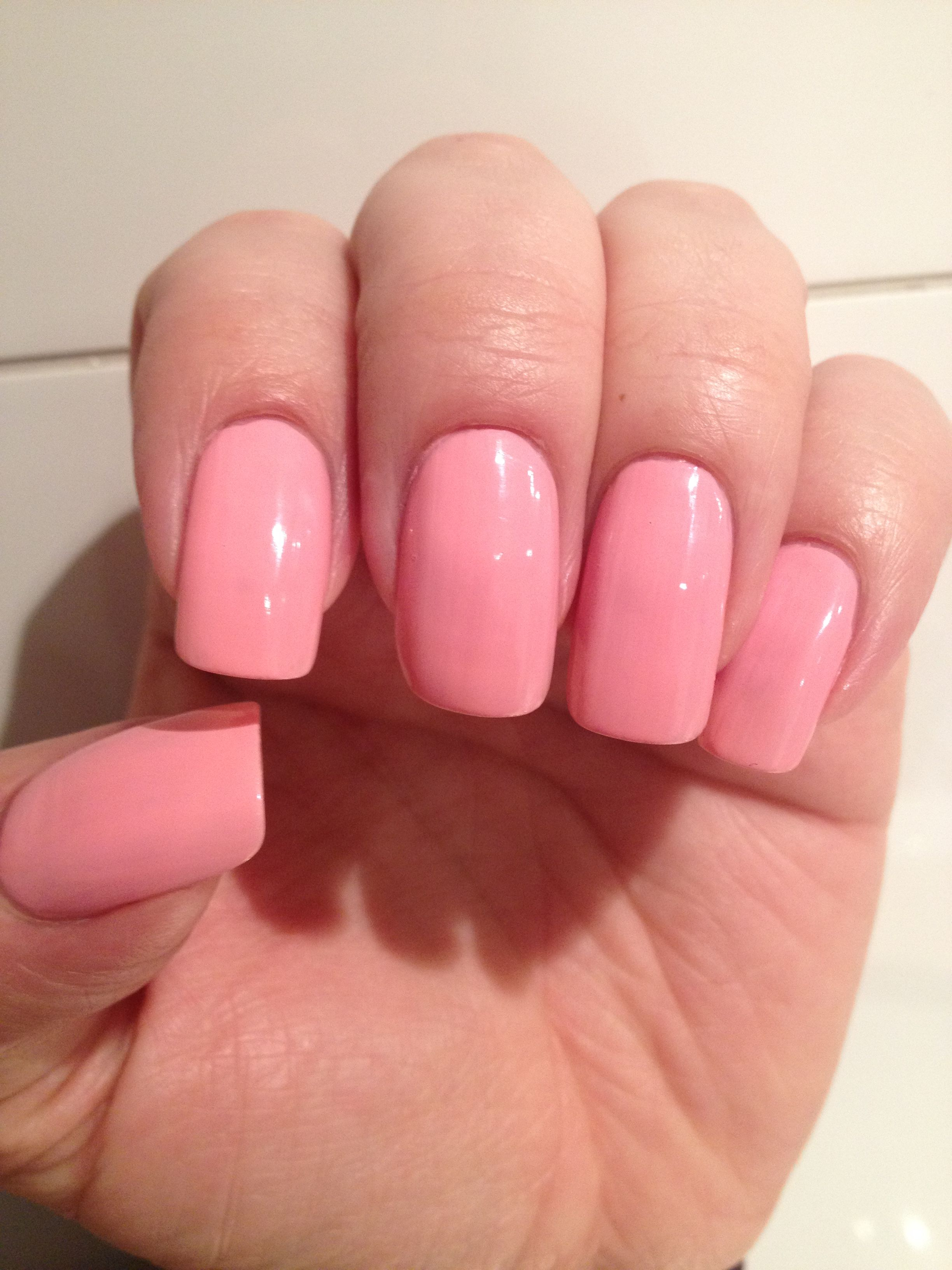 Beautiful Pink acrylic nails (With images) | Pink acrylic