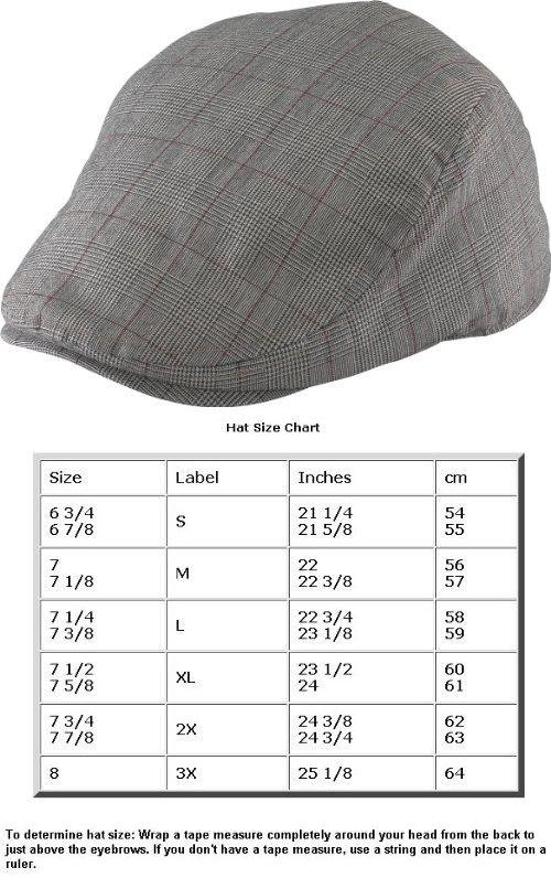 0bf569fbe3c Henschel Duckbill Plaid Ivy Scally Cap 3 Point Summer Flat Driver Hat 6016