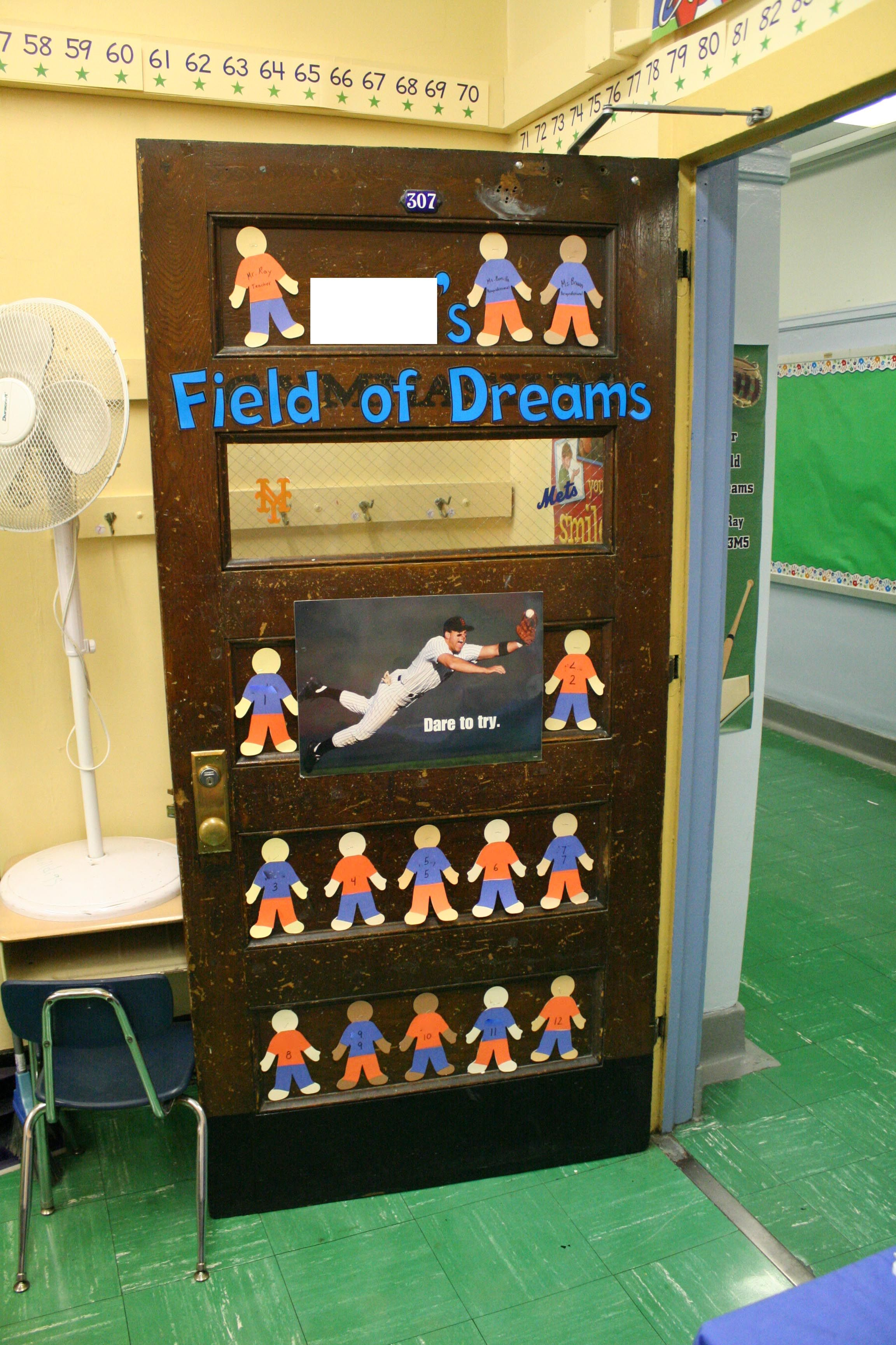 Attractive Sports Themed Classroom Decorating Ideas Part - 2: This Yearu0027s Classroom: A Field Of Dreams - Baseball/dreams Themed Room.