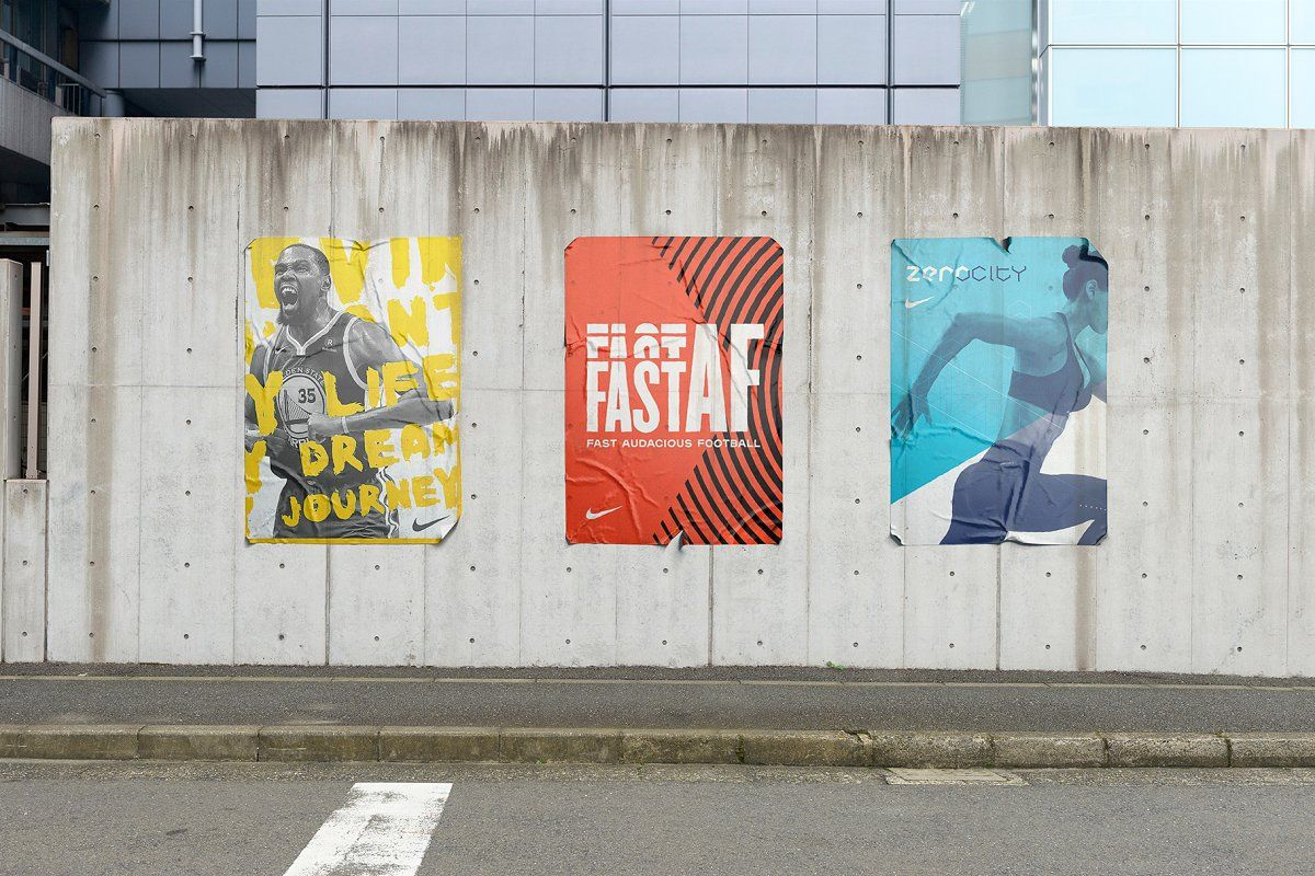12 Urban Street Mockups Psd Illustration Design Mockup Psd Poster Mockup