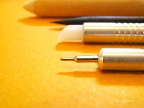 9487b2a843e4 Set de herramientas para repujar en aluminio   Aracelyasmine - Arte y  artesanías