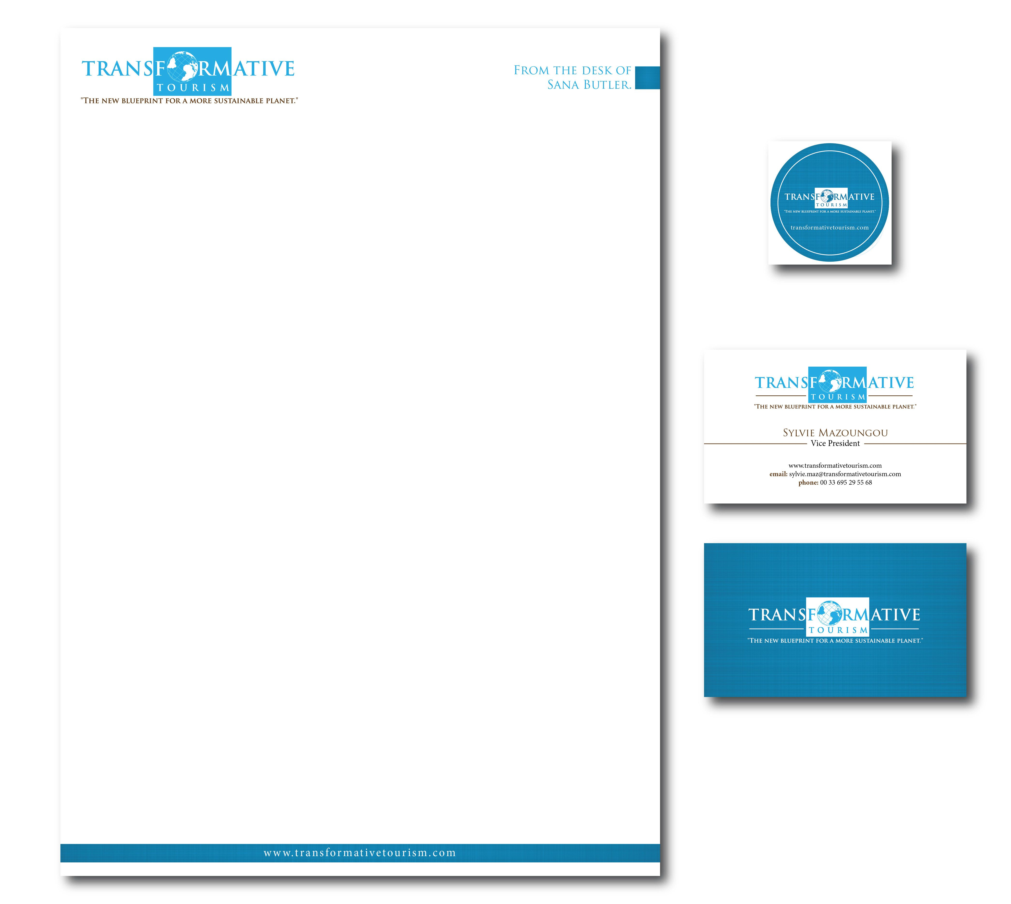 travel letterhead design business card company templates word free ...