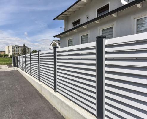 ALU Zaun Parallelo LEEB Balkone und Zäune in 2019