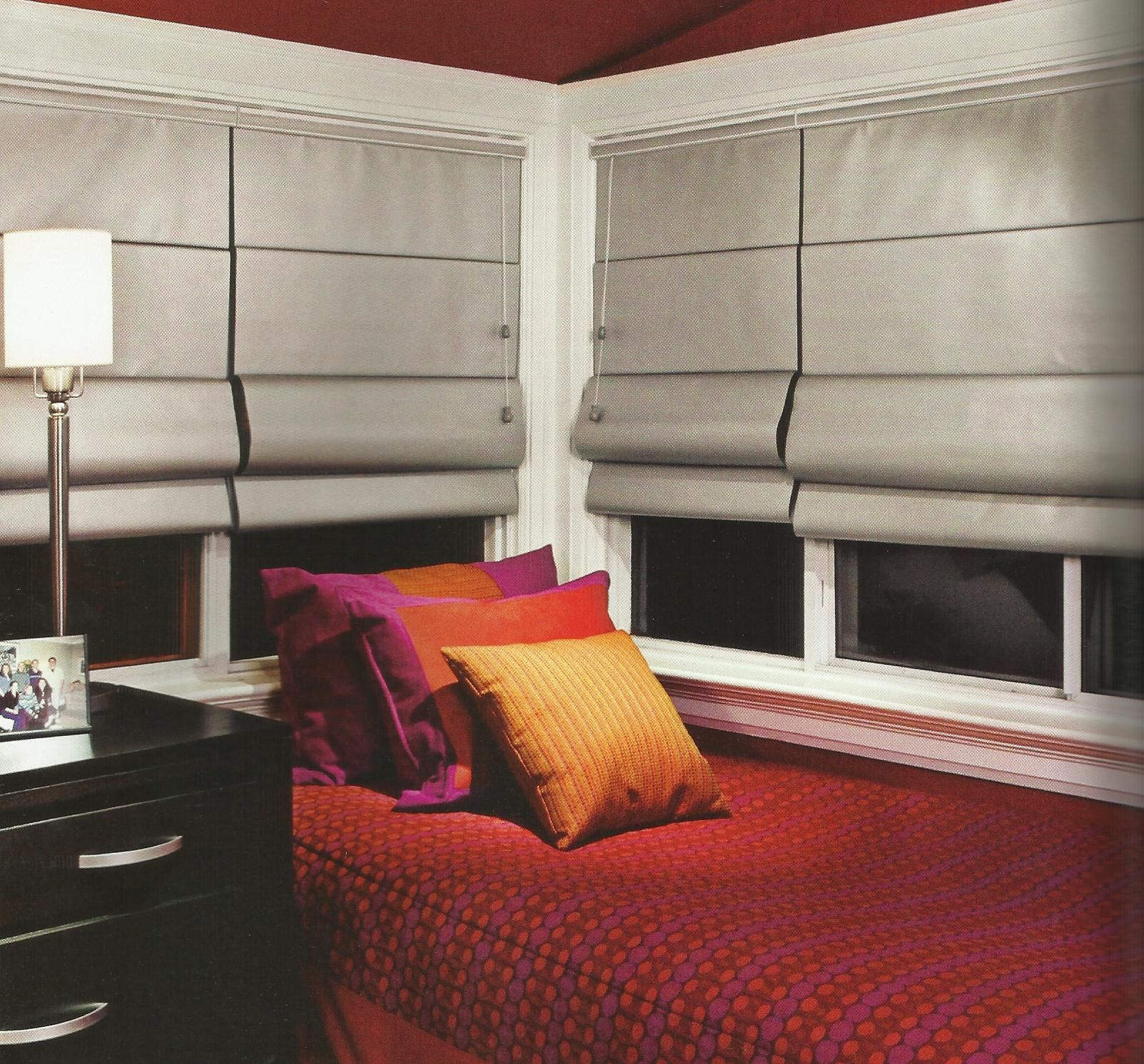 Candice Olson Basement Design: In A Small Room, Opt For Tailored Window Treatments That