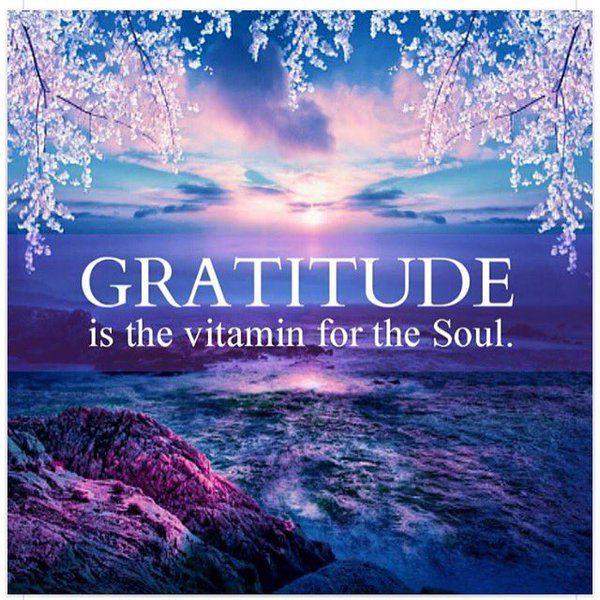 #gratitude hashtag on Twitter