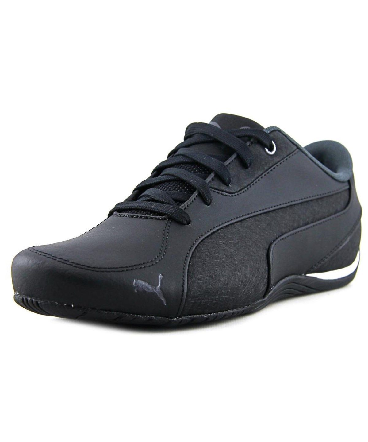 official photos d4009 ca527 PUMA Puma Drift Cat 5 Men Round Toe Leather Black Sneakers ...