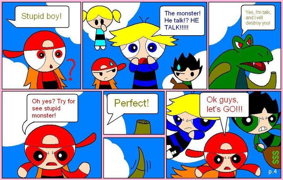 Ppg Rrb Comic Part 4 By BoomerXBubbles On DeviantArt