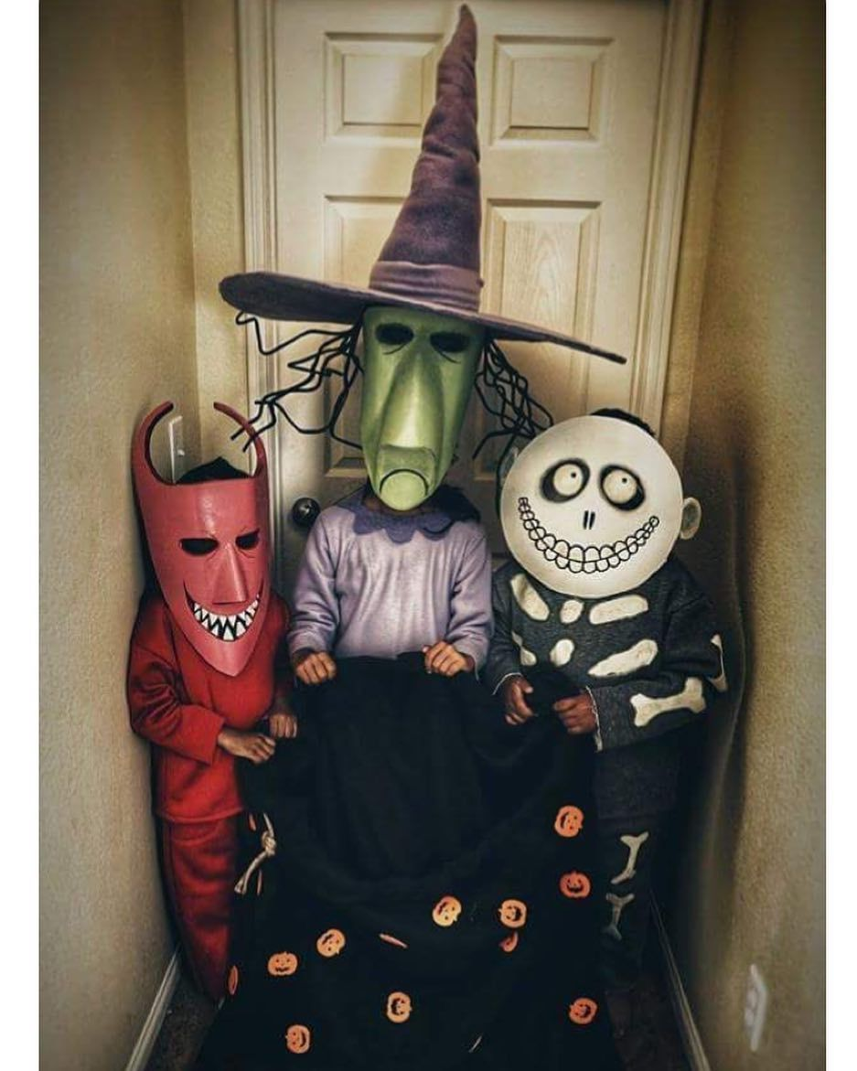 Trick or Treat! Comment who these kids are and what movie