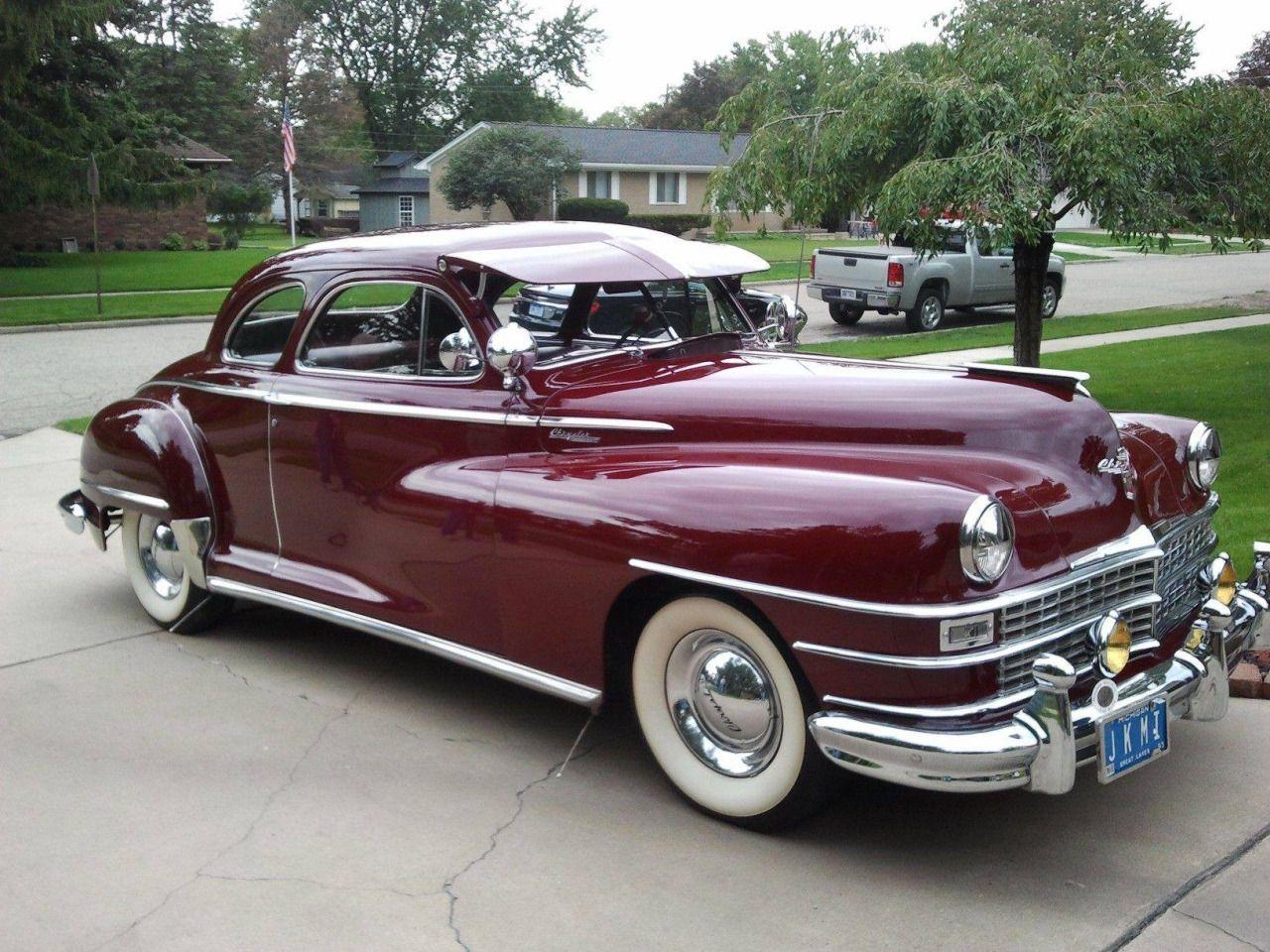 Chrysler Windsor 1947 - 40s & 50s American Cars. | Cars | Pinterest ...