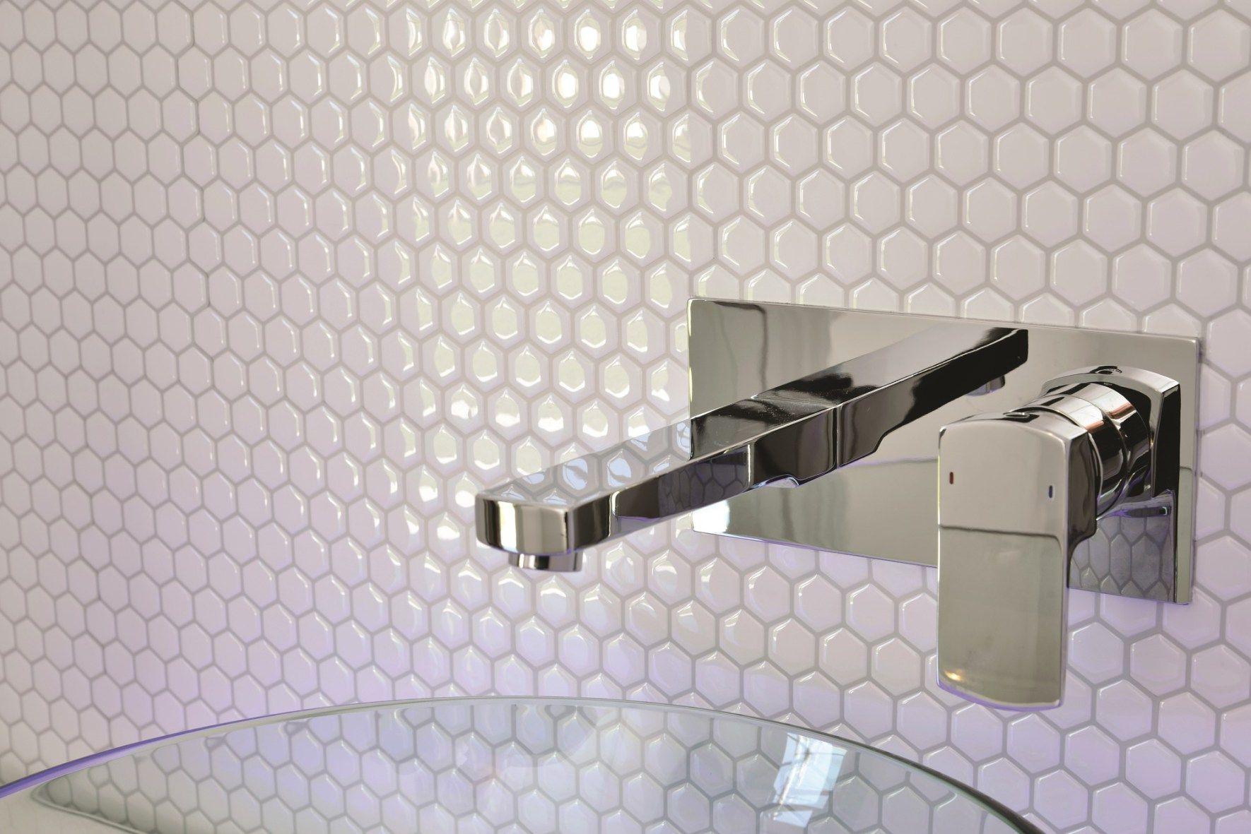Hexagon self adhesive wall tile | Diy | Pinterest | Wall tiles ...