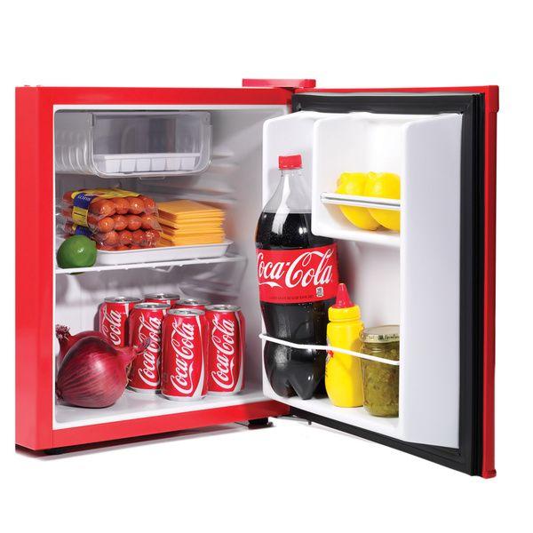 Nostalgia Electrics Coca Cola Series CRF170COKE 20.4 Inch Mini Fridge