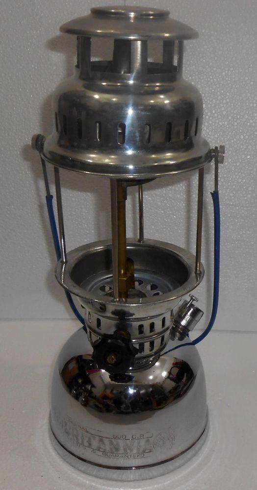 Vintage BRITANNIA Brand Kerosene Petromax LANTERN GAS LAMP Made In India Unused