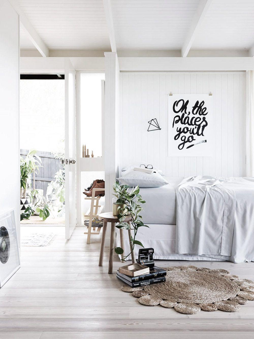 white, light, bright (my ideal home...) | Schlafzimmer, Wohnideen ...