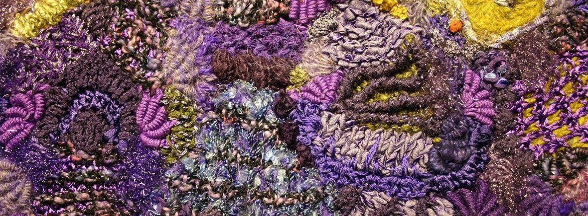 purple-freeform-header   Breien - Knitting   Pinterest   Header ...