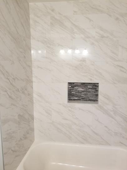Msi Kolasus White 12 In X 24 In Polished Porcelain Floor And Wall Tile 16 Sq Ft Case Nhdkol Porcelain Flooring Home Depot Bathroom Tile Shower Wall Tile