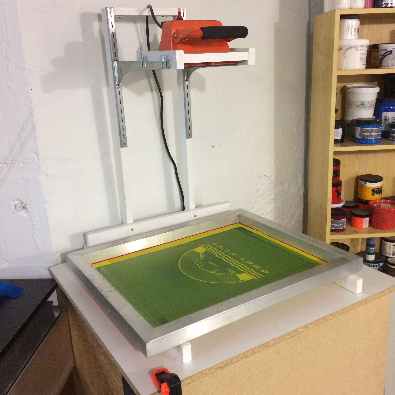 Diy screen printing exposure unit diy screen printing