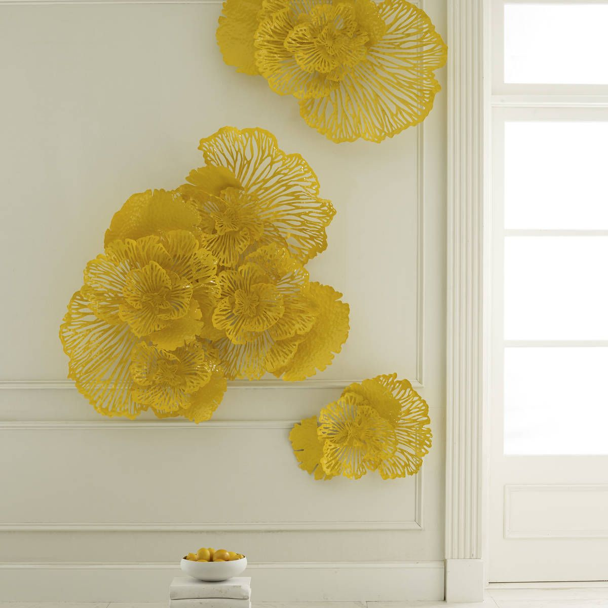 Nice Wall Art Flower Contemporary - The Wall Art Decorations ...