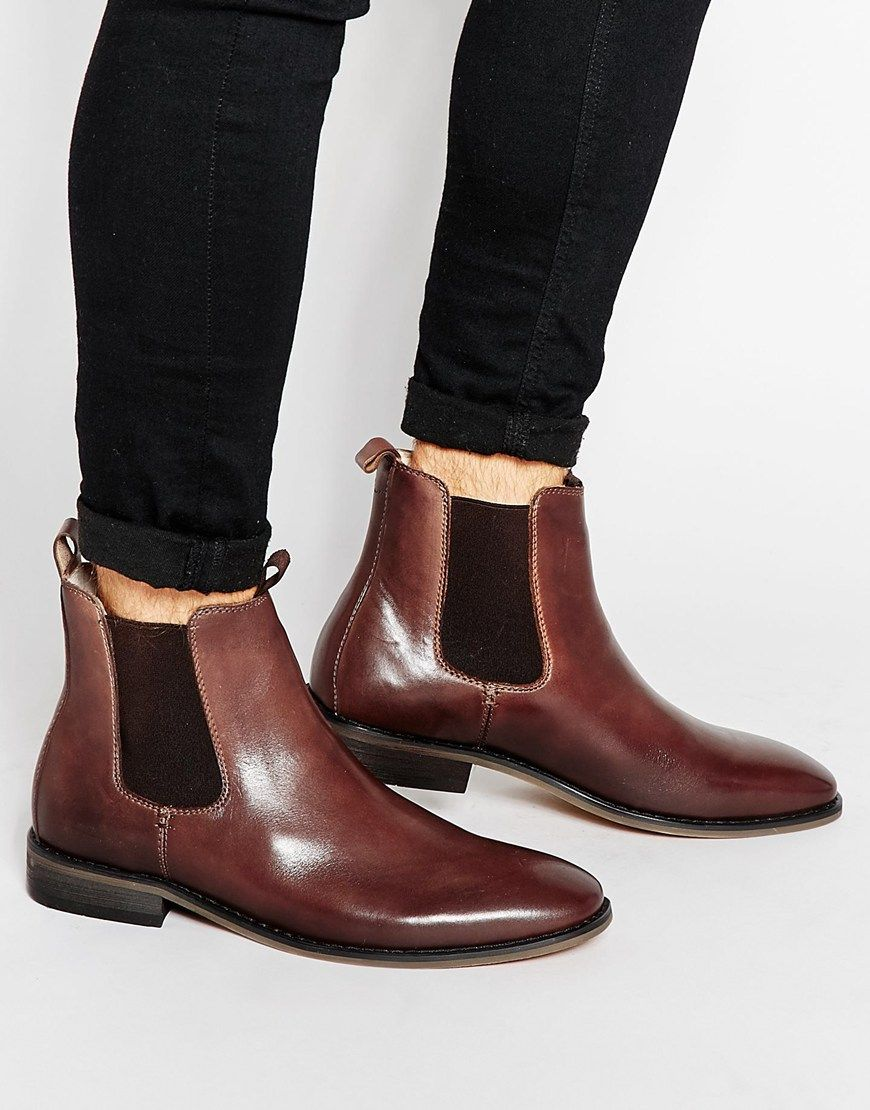 Buy Men Shoes / Bellfield Leather Chelsea Boots