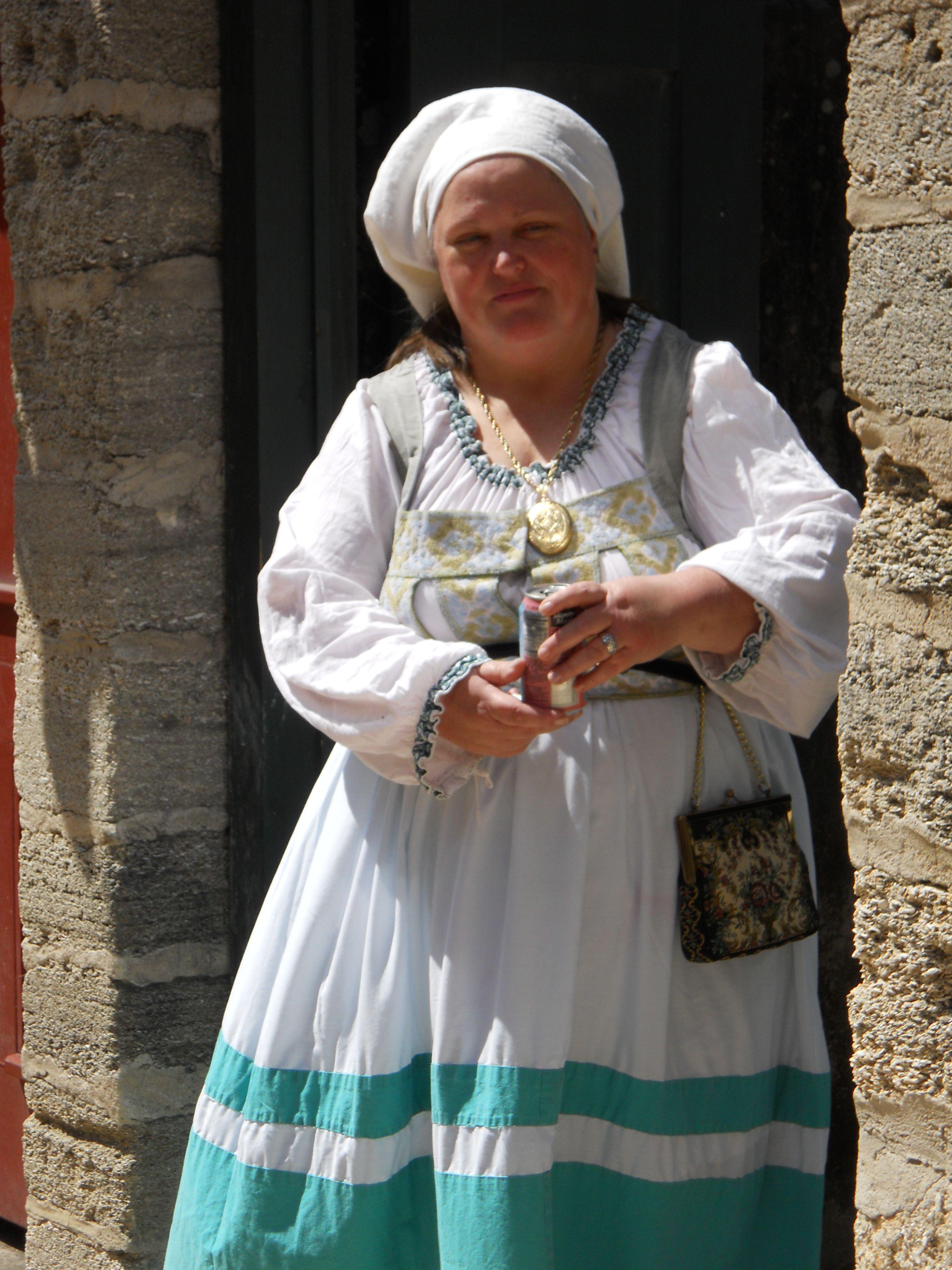 Lady on St. George Street