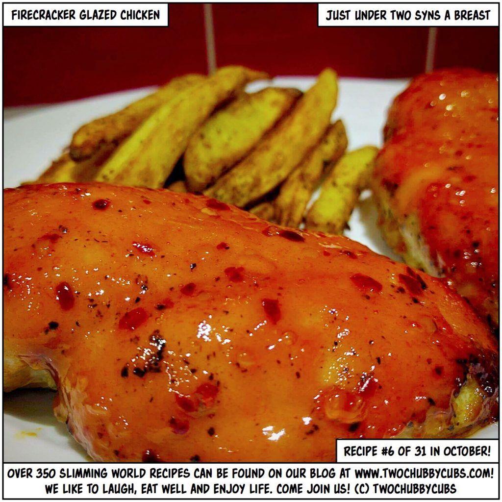 Firecracker Chicken Thighs: Firecracker Glazed Chicken