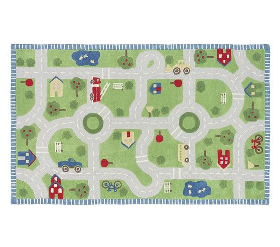 3d Activity Play In The Park Rug With Images Baby Room