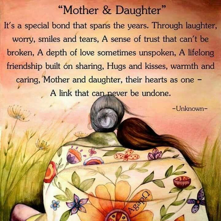 Mother & Daughter Poem