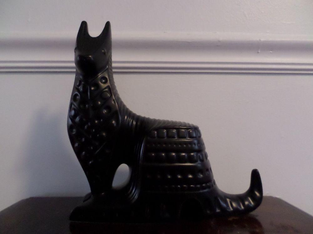New Jonathan Adler Kangaroo MOD geometric Sculpture Figure Home Decor BLACK #JonathanAdler #Modern