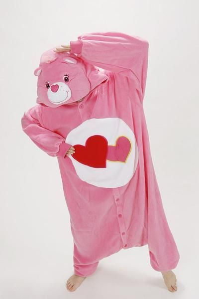 Pinky Care Bear Kigurumi Onesies #carebearcostume Pinky Care Bear Onesies – Kigurumi Co #carebearcostume