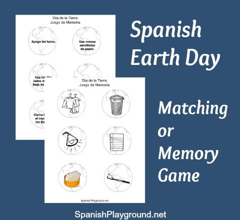 Celebrate Earth Day in Spanish: 5 Activities | Printable coloring ...