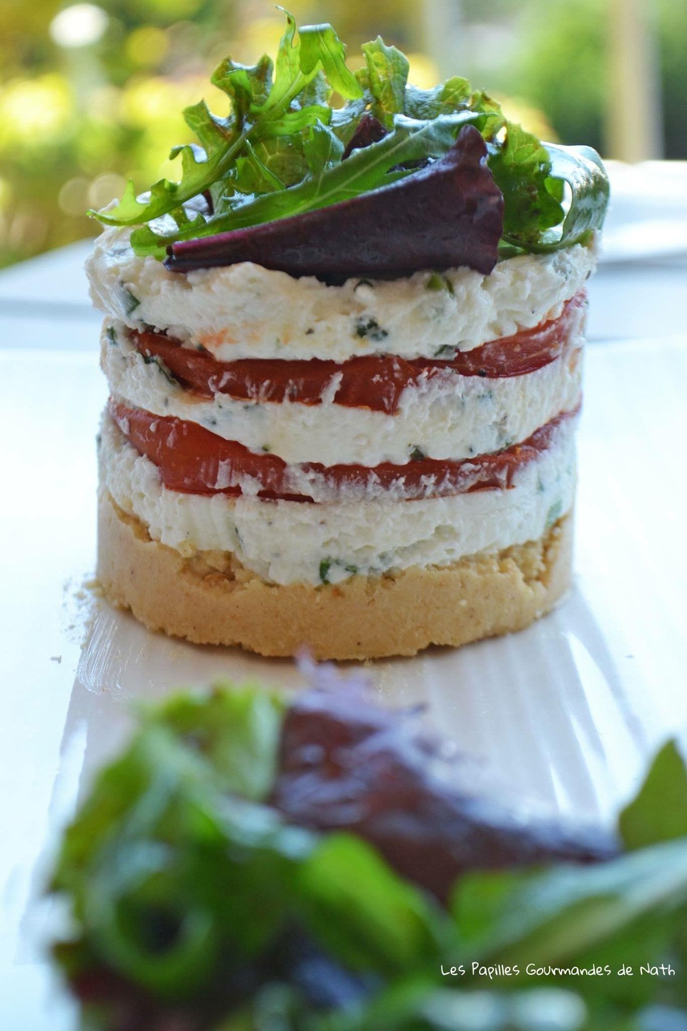 Cheesecake Tomate fromage de chèvre frais | Recette ...