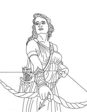 The Goddess Athena Of Greek Mythology Coloring Page The Goddess Athena Of Greek Mythology Coloring Page Col Ausmalen Griechische Mythologie Wenn Du Mal Buch