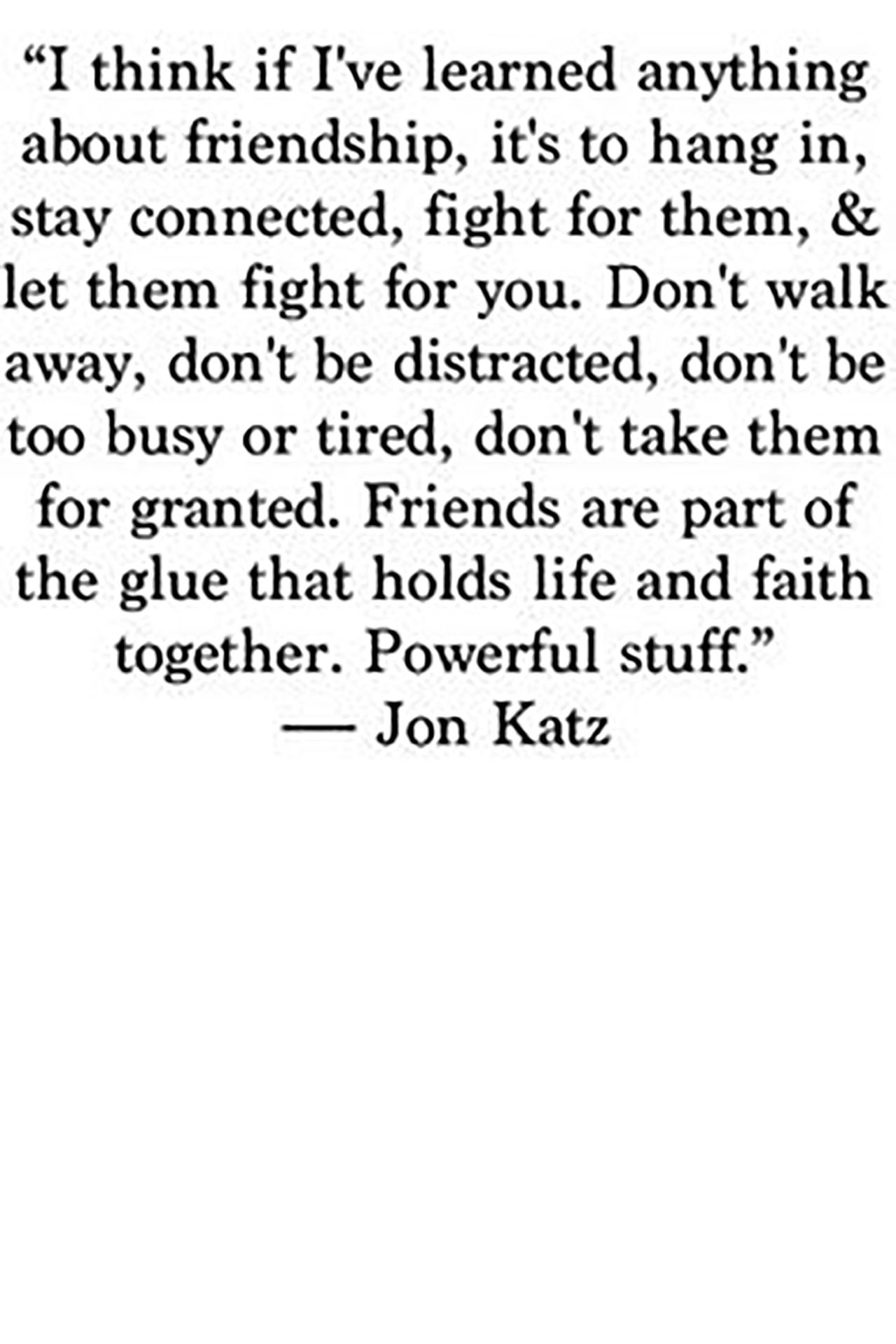 Real Quotes About Friends