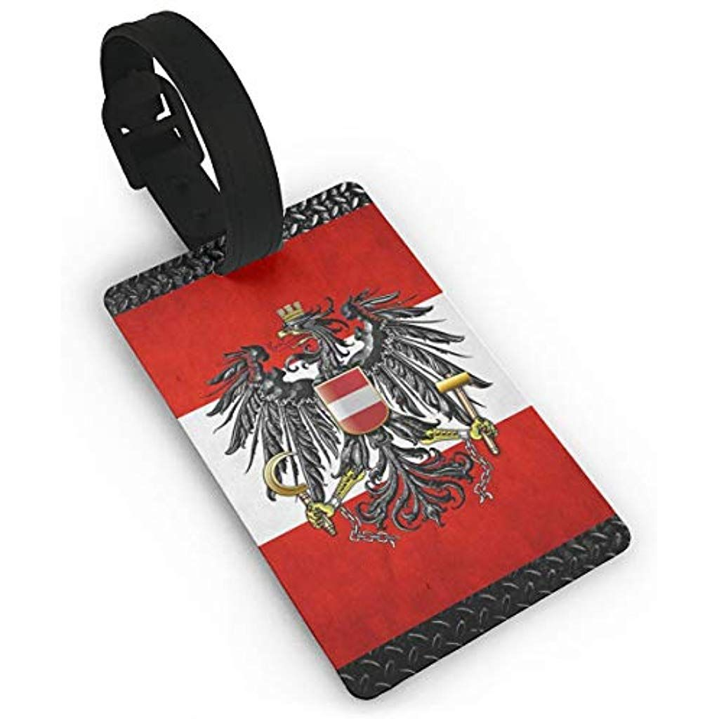 Flag Of Austria Luggage Tags Travel Accessory Luggage Id Tag