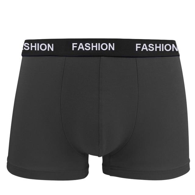 Men/'s Boxer Soft Breathable Underwear Comfortable Solid Panties Underpants New