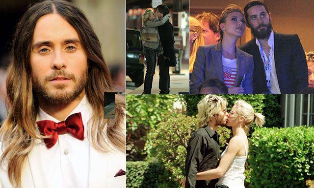 La carrera romántica de Jared Leto