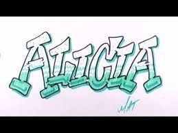 Resultado De Imagen De Alicia En Graffiti Graffiti Imagenes De