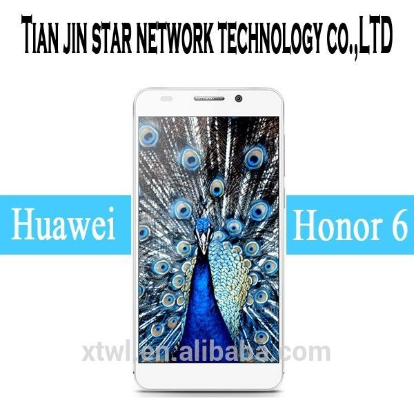 HUAWEI honor 6 4G mobile phone Android 4.4 TD-LTE/FDD-LTE 3GB RAM, View HUAWEI mobile phone, HUAWEI Product Details from Tianjin Star Network Technology Co., Ltd. on Alibaba.com