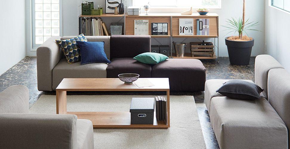 Unit Sofa Muji Sofa Furniture Home Decor