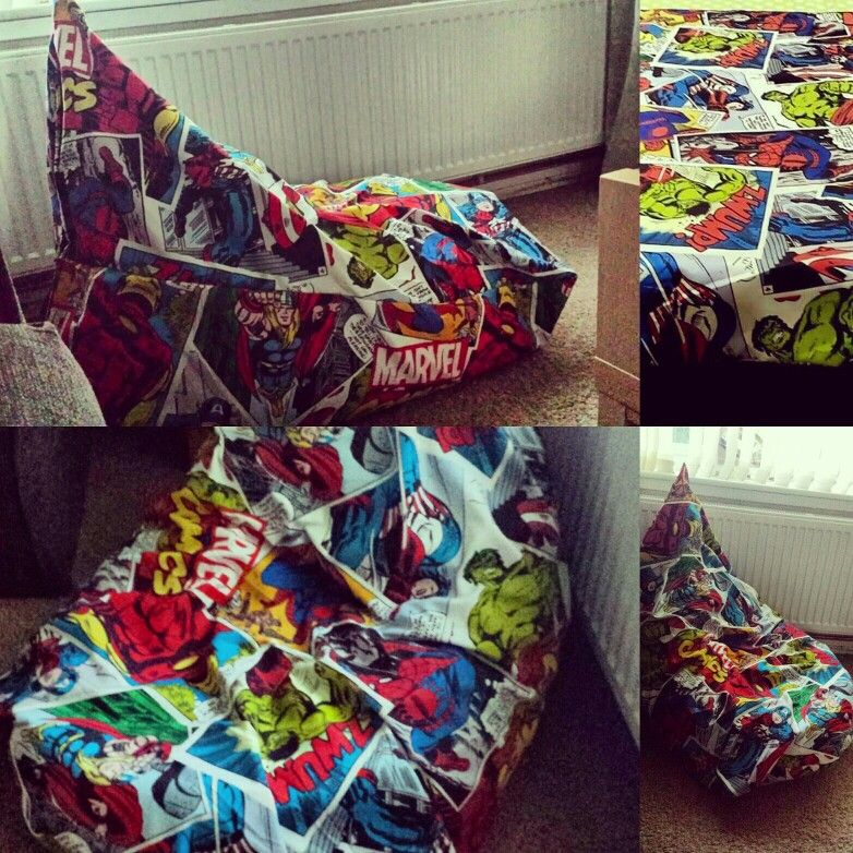 Marvel Teen Adult Size Bean Bag Gaming Chair