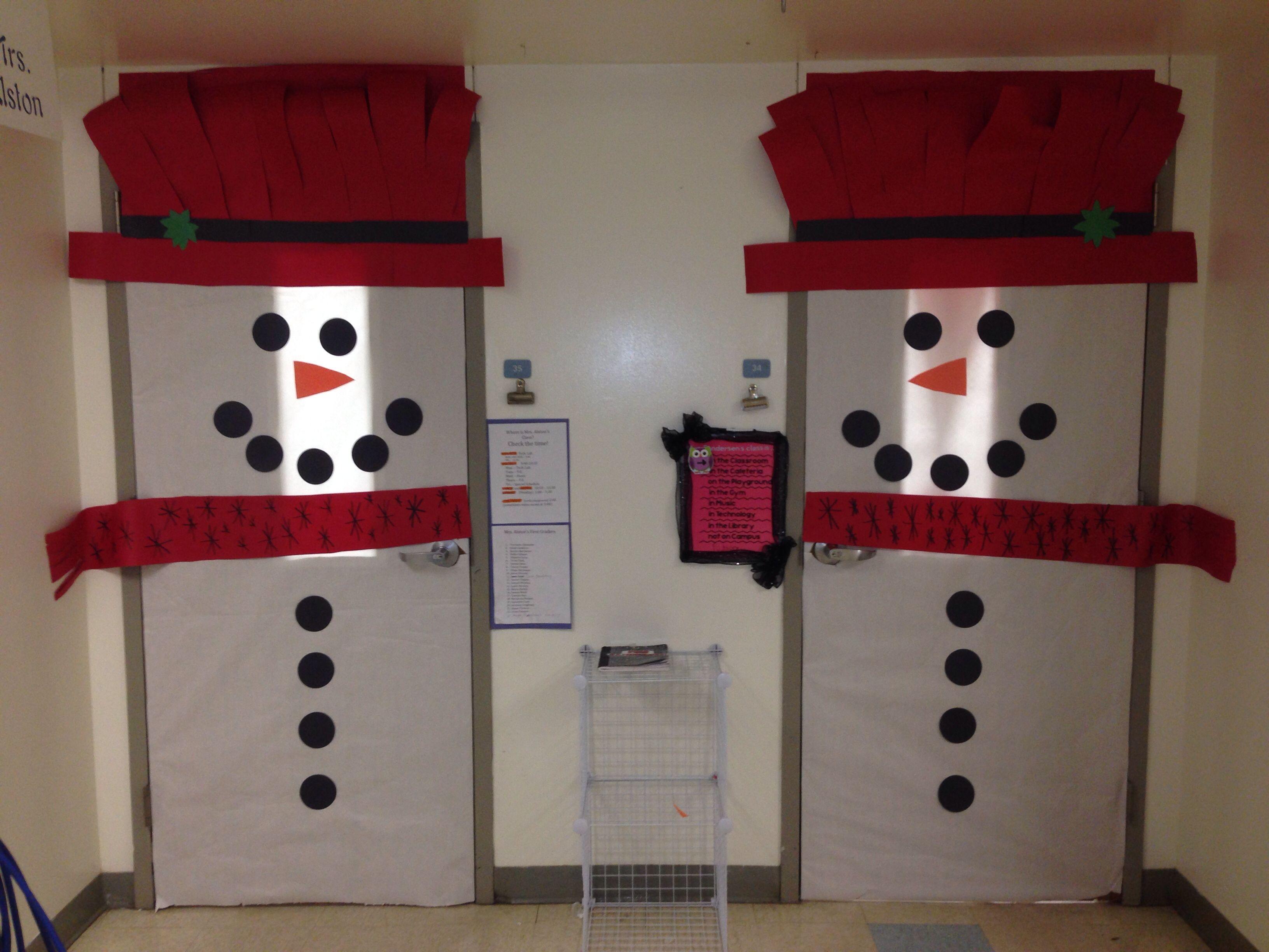 Winter Wonderland Classroom Door Decorations : Awesome classroom door decorations winter wonderland
