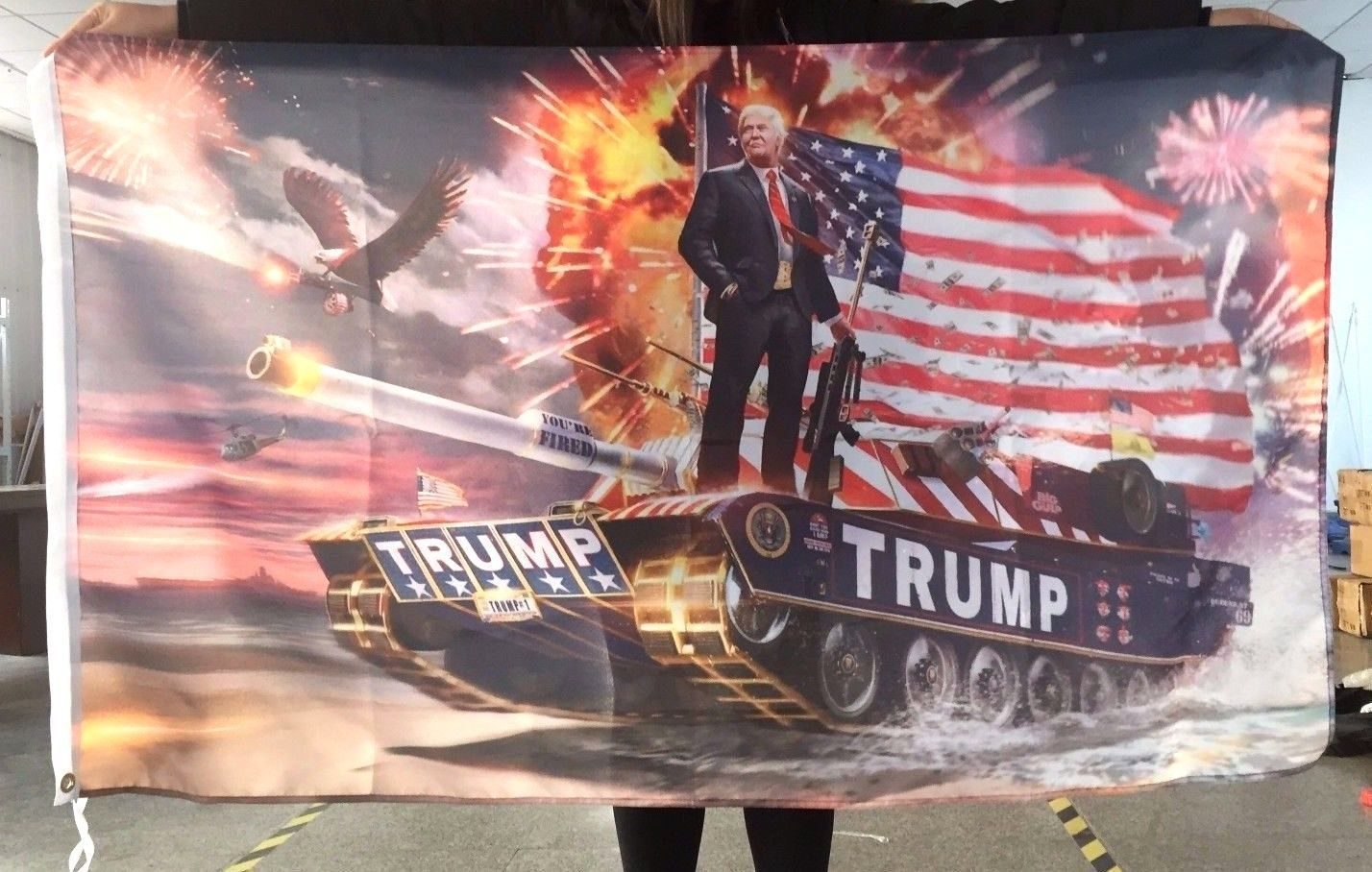 Details about NEW President Donald Trump American Tank