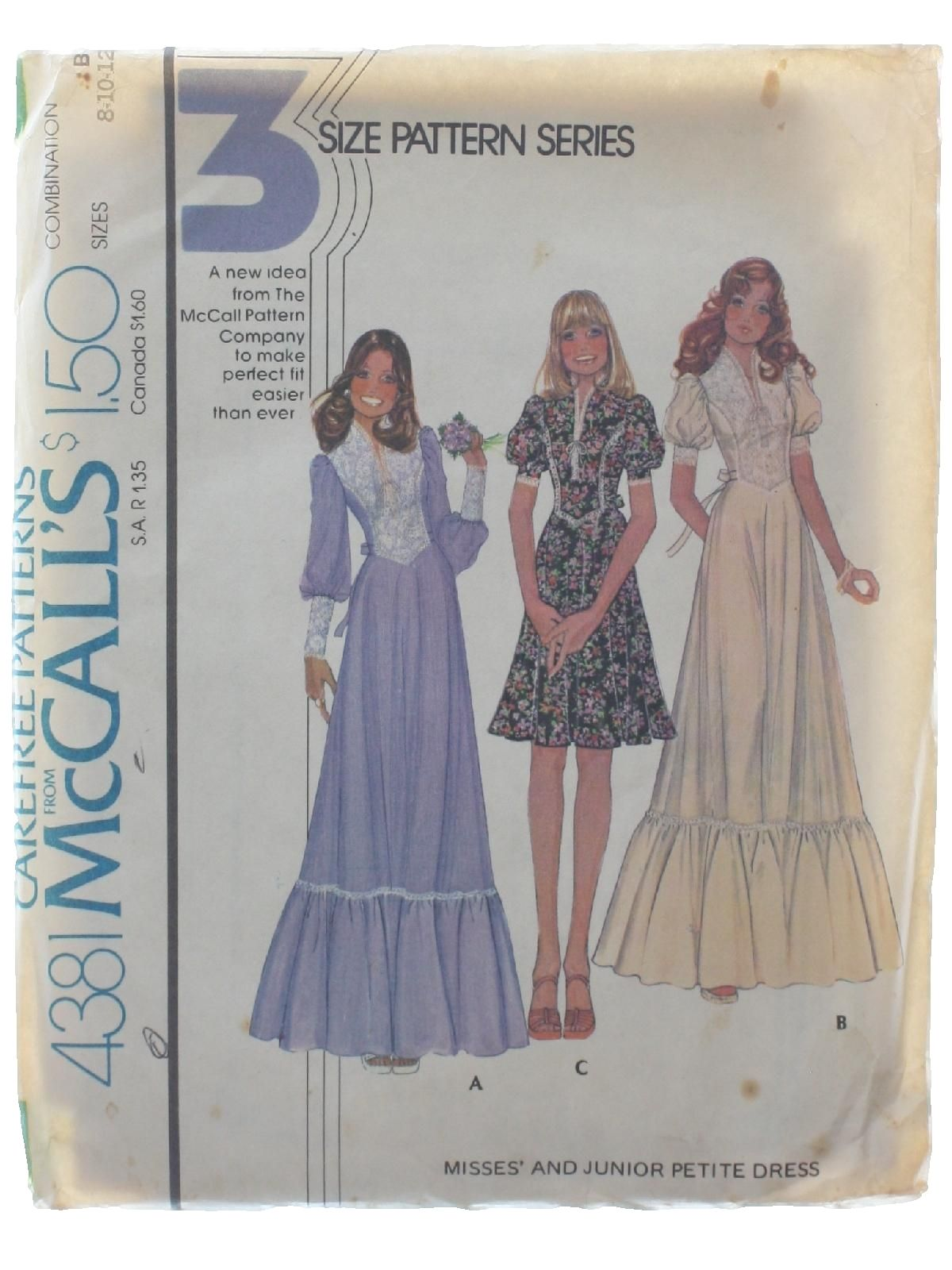 Seventies Sewing Pattern 70s Simplicity Pattern No. 4381