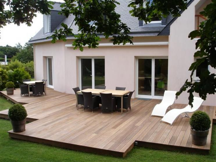 Bois Composite Design Extension Bois Concarneau 29900 Realisation D Agencements D Espaces Commerciaux Amenagement Jardin Cloison Modulaire Jardin Exterieur