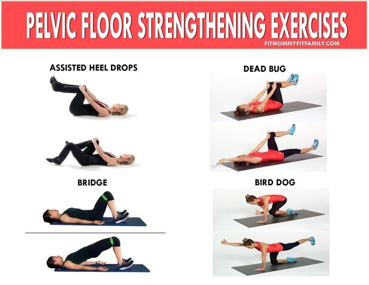 Pelvic floor and doing pelvic floor exercises seems to be