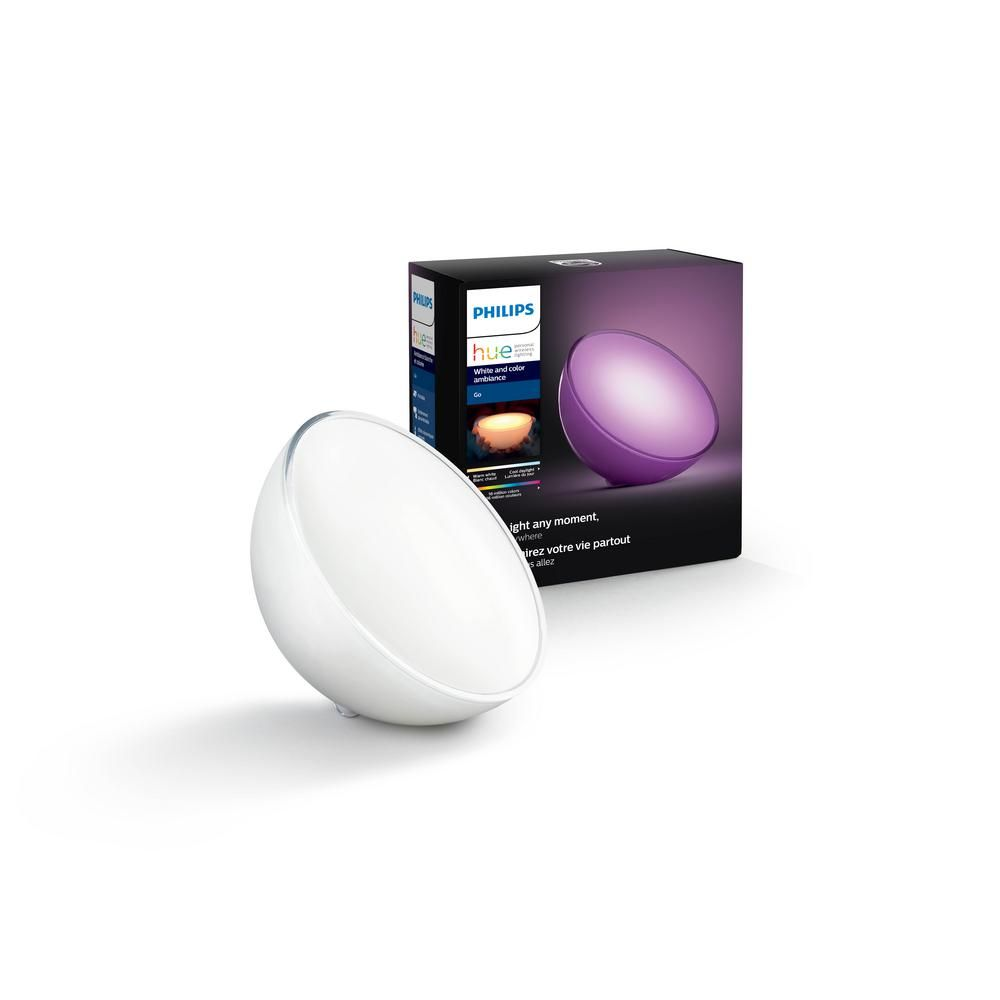 Philips Hue Go White And Color Ambiance Portable Dimmable Led